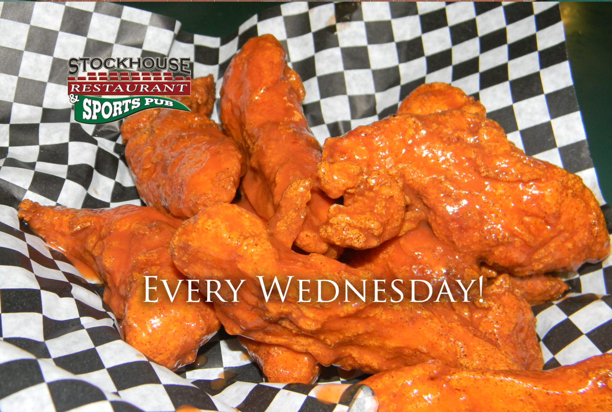 $.35 Wednesday Boneless Wing Night!