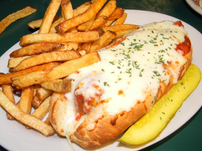 Meatball Marinara Sub Sandwich
