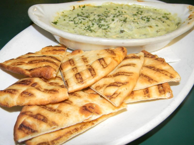 Try or Fresh Spinach and Artichoke Dip