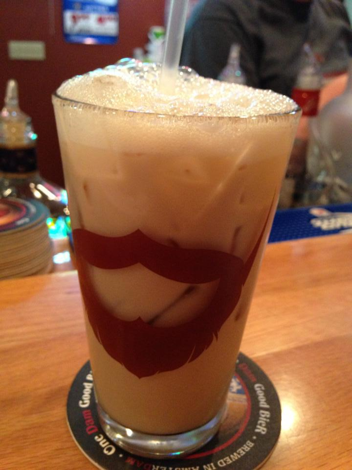 Bartender special White Russian made with Pinnacle Chocolate Whipped!
